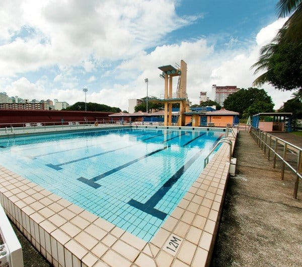 Swimming Lessons in Queenstown Swimming Complex Swim101SG